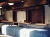Detailed trim work behind the bar